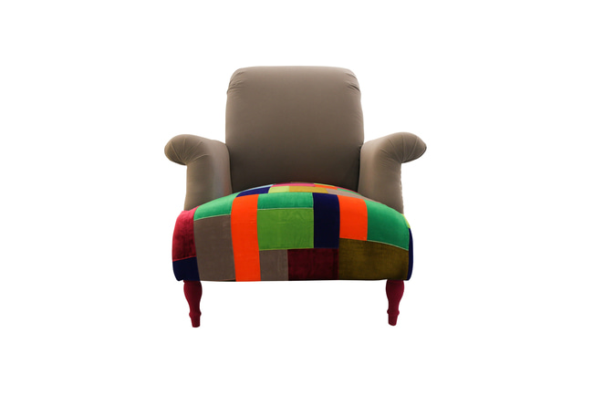 Color Patch Arm Chair, 컬러페츠암체어